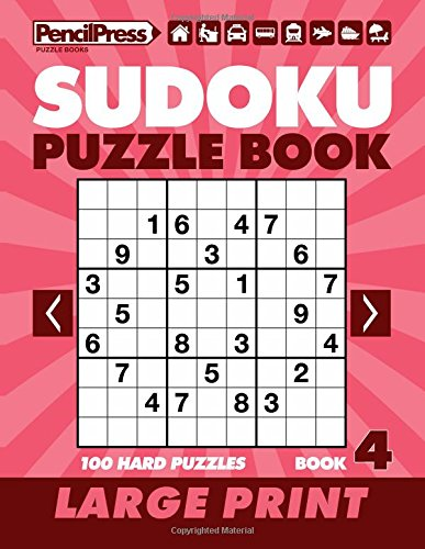 Download Sudoku Puzzle Book 4 (Large Print) pdf epub