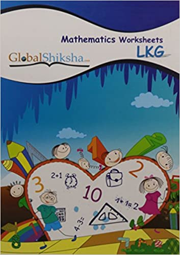 Buy Worksheets for LKG - Maths Book Online at Low Prices in India ...