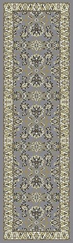 Traditional Area Rugs Gray Hallway Runner Rugs Runner Rug for Hallway 2x8 (Rugs Runner Hallway)