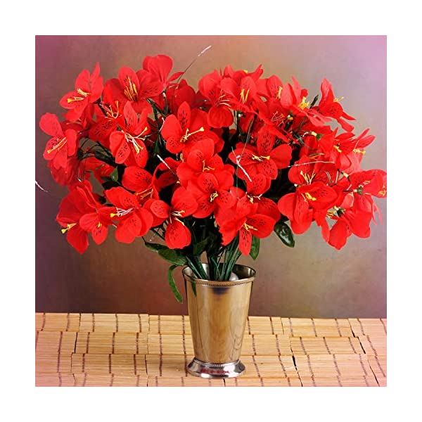 Inna-Wholesale-Art-Crafts-New-6-RED-Bushes-Silk-Mini-PRIMROSES-Decorating-Flowers-Bouquets-Decorations-Perfect-for-Any-Wedding-Special-Occasion-or-Home-Office-Dcor