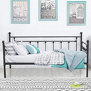 Amazon Com Zinus Eden Twin Daybed Steel Slat Support