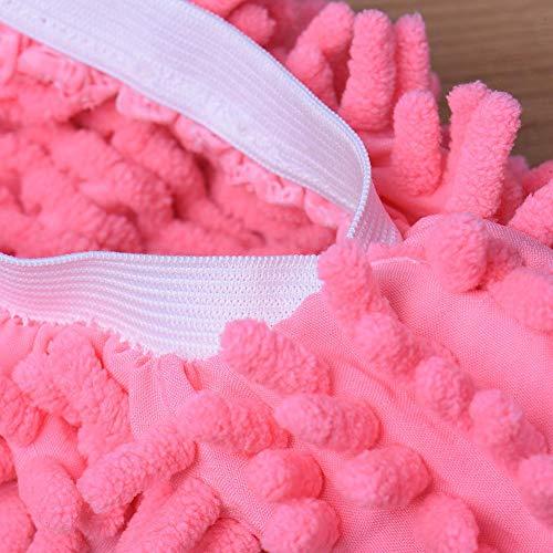 des Les lavables Femmes forment Pantoufles polypes lavables Hommes de et Chaussons Les et Paresseux pour vadrouille Les paresseuse w66zqaX