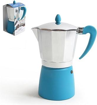 San Ignacio Cafetera 12T. Soft Touch Splash Azul: Amazon.es: Hogar