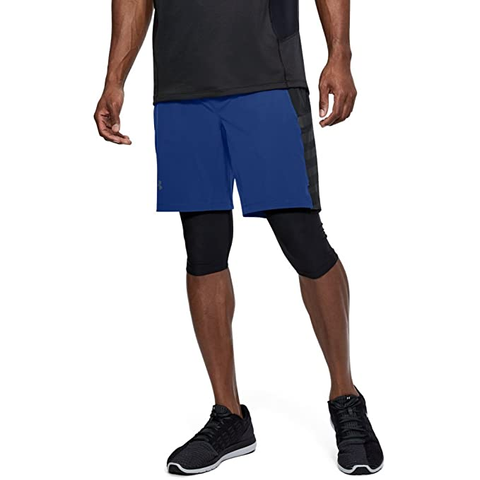 new appearance top-rated cheap cozy fresh Under Armour Men's Speedpocket Long 2-in-1 Shorts