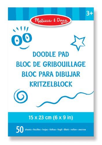 Melissa & Doug - 14107 - Doodle Pad (15 x 23 Cm) (Pad & Melissa Doug Doodle)