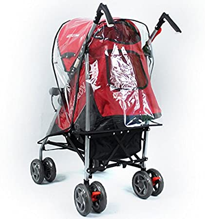 Funda universal LEORX impermeable y transparente para cochecitos o sillas de paseo