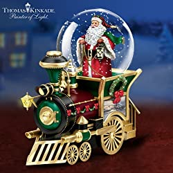 Musical Snow globe Train Car