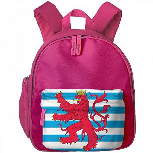 Benelux Regional Flags Novelty Kids' Backpacks Pocket Printing Child Bag Portable Schoolbag For Boys Girls