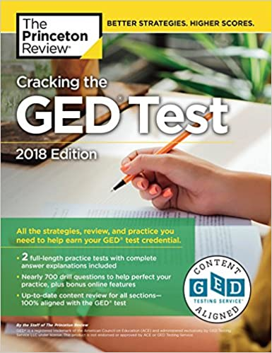 Cracking the GED Test with 2 Practice Exams, 2018 Edition