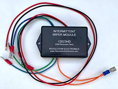 Revolution Electronics Intermittent Wiper Module for GM Recessed Park Vehicles