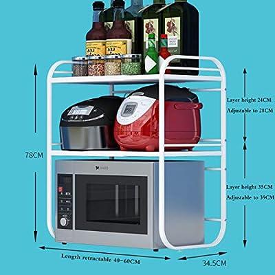 Estante de electrodomésticos de cocina, Estante de horno de ...