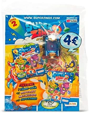 Superzings S2 - Pack de Inicio Exclusivo: Amazon.es: Juguetes y juegos