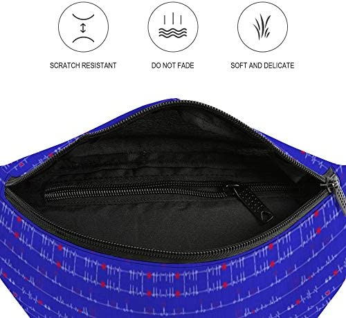 EKGロイヤルブルー ウエストバッグ ショルダーバッグチェストバッグ ヒップバッグ 多機能 防水 軽量 スポーツアウトドアクロスボディバッグユニセックスピクニック小旅行