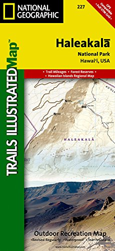 Haleakala National Park (National Geographic Trails Illustrated Map)