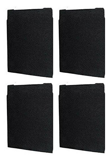 Carbon Pre-Filters Compatible with Whirlpool 8171434K Large Air Purifier By NISPIRA, 4-Packs