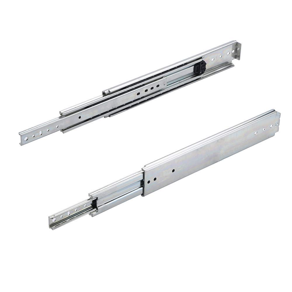 28 inch 500LB Capacity Heavy Duty Full Extension Ball Bearing Side Mount Drawer Slides - 1 Pairs,Mounting Screws Included, Available in 26'',28'',30'',32'',34'',36'' Length