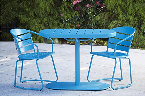 Amazon.com: Cosco Outdoor Living 87800BTQE Cosco Outdoor Bistro Set, Teal:  Garden & Outdoor - Amazon.com: Cosco Outdoor Living 87800BTQE Cosco Outdoor Bistro Set