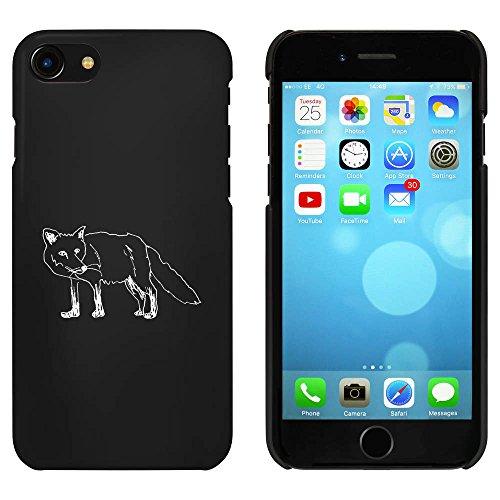 Schwarz 'Stehender Fuchs' Hülle für iPhone 7 (MC00074237)