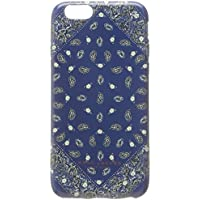 Marc by Marc Jacobs Cell Phone Cradle for iPhone - Retail Packaging - Rail Blue Multi