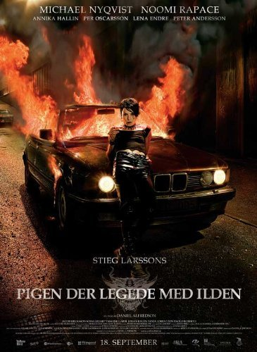 The Girl Who Played with Fire POSTER Movie (11 x 17 Inches - 28cm x 44cm) (2009) (Danish Style B)