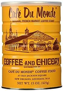 Half a Dozen Cans (6 Cans) of Coffee Du Monde - 15 oz. cans