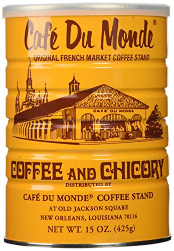 Half a Dozen Cans (6 Cans) of Coffee Du Monde - 15 oz. - Outlet Orleans New Mall