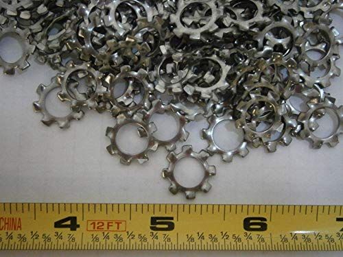 Lock Washers M8 External Tooth DIN 6797J Stainless Steel Lot of 75#3053 Assortment Kit Set