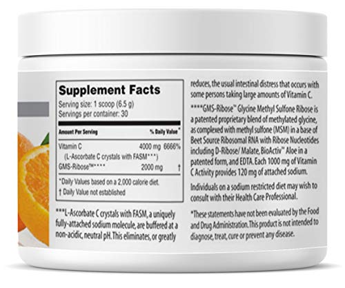 American Nutriceuticals Vitality C - 200 Gram (Pack of 2) | Ultra High-Potency Vitamin C Powder Without Gastric Distress | Enhanced Absorption, Neutral pH with GMS-Ribose Complex by Vitality C (Image #1)