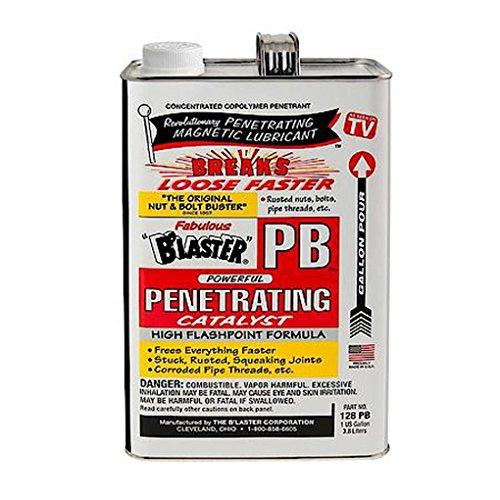B'laster - 128-PB-4PK - Penetrating Catalyst - 1-Gallon - Case of 4 by B'laster