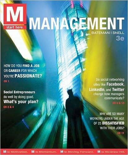 M management 3rd edition thomas bateman scott snell m management 3rd edition 3rd edition by thomas bateman fandeluxe Choice Image