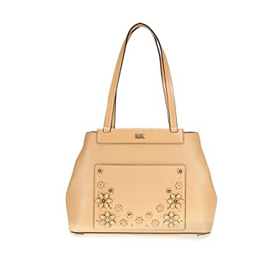 ed8c45083936ea Amazon.com: Michael Kors Meredith Medium Leather Tote- Butternut: Shoes