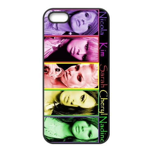 Girls Aloud 003 coque iPhone 4 4S cellulaire cas coque de téléphone cas téléphone cellulaire noir couvercle EEEXLKNBC25415