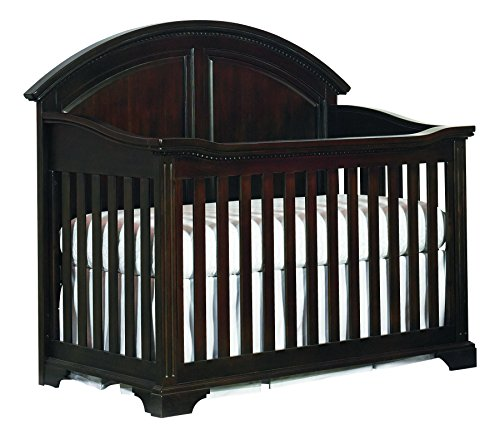 Bassett Baby & Kids Kinston 4-in-1 Crib, Antique Charcoal Brown