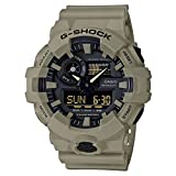 Casio Men's 'G SHOCK' Quartz Resin Casual Watch, Color Beige (Model: GA-700UC-5ACR)