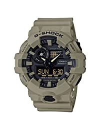 Casio Men's GA-700UC-5ACR G Shock Analog-Digital Display Quartz Beige Watch