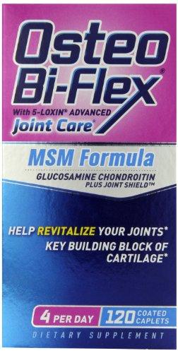 Osteo Bi-Flex Plus MSM, 120 gélules enrobées