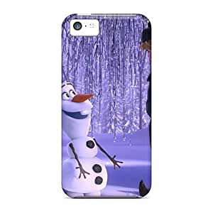 Fashionable Style Case Cover Skin For Iphone 5c- Disney Frozen Olafkristoffanna