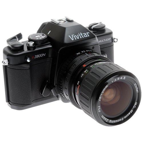 Amazon.com : Vivitar SLR Camera with 28-70 Zoom Lens (VIV-V3800 ...