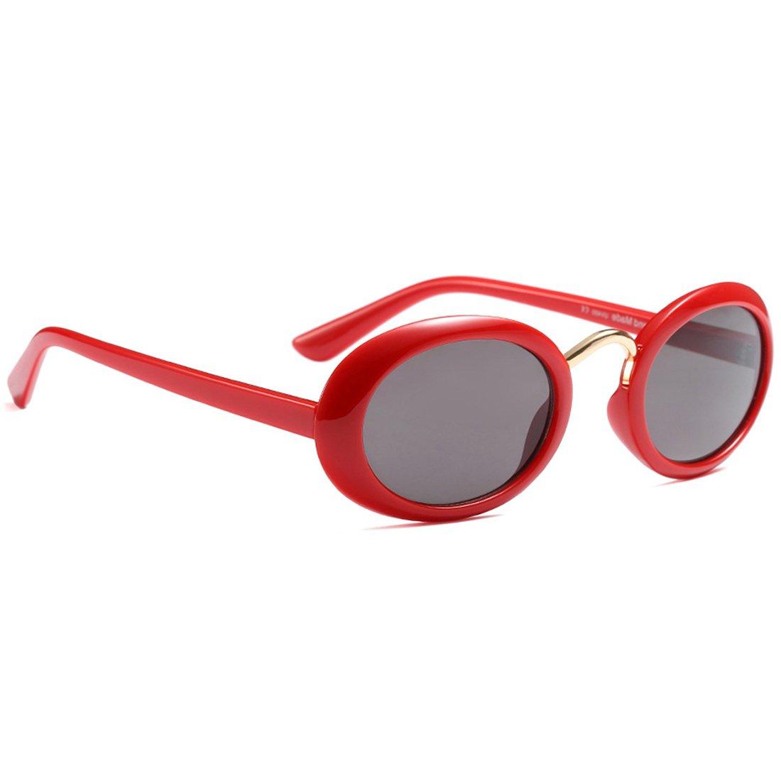 color3 modesoda Women's Sunglasses Round Small Frame Metal Bridge
