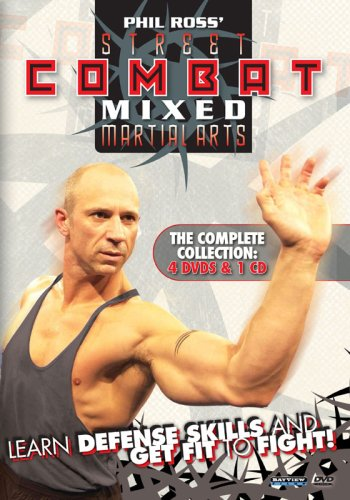 Phil Ross Street Combat Mixed Martial Arts The Complete Collection 4 DVD Set