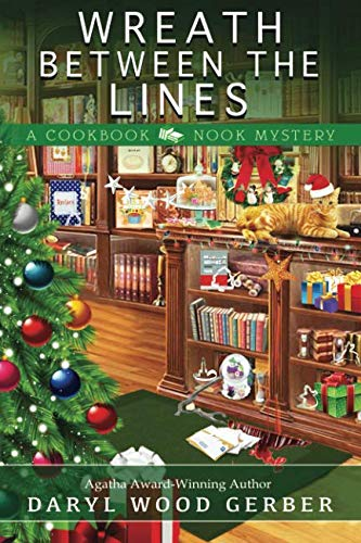 Wreath Between the Lines (A Cookbook Nook Mystery)]()
