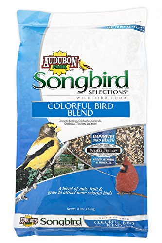 Songbird Selections 11971 Colorful Bird Wild Bird Food Blend, 8-Pound (Scotts Food)