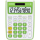 Casio MS-10VC Standard Function Calculator, Green