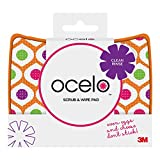 ocelo Scrub & Wipe Cleaning Pad, Colors and designs may vary (1 Pad Total)