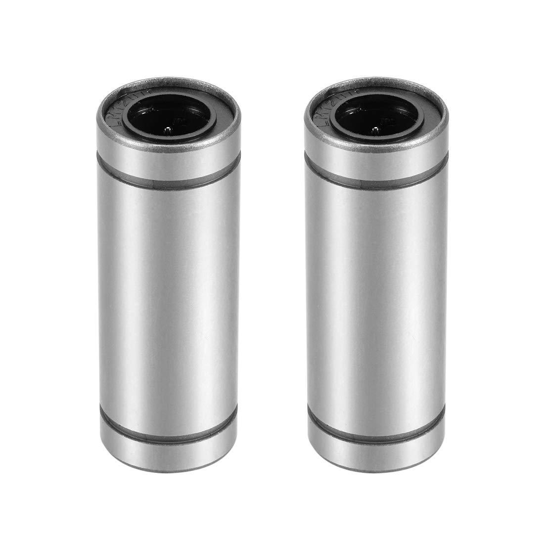 Amazon.com: Uxcell LMLUU Series rodamientos lineales de ...