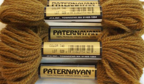 Paternayan Needlepoint 3 Ply Wool Yarn Color 740 Tobacco This Listing Is For 2 Mini 8 Yd Skeins