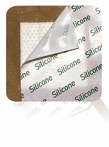 Biatain Adhesive Foam Dressing - MEDVANCE Silicone - Bordered Silicone Foam Dressing 4