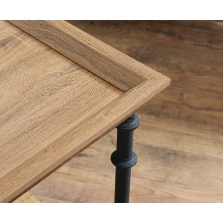 Better Homes and Gardens River Crest Side Table, Rustic Oak Finish