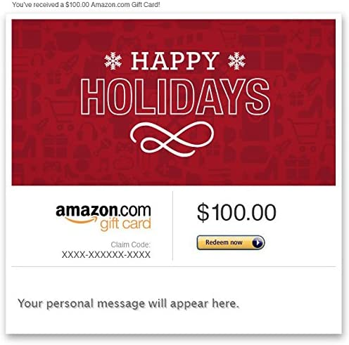 Amazon Gift Card - Email -Holiday Icons