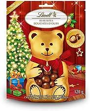 Lindt Lindor Milk Chocolate Bear Bites, 120g, 120 Grams